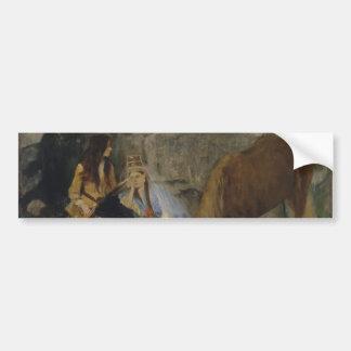 Mlle Fiocre in Ballet La Source by Edgar Degas Car Bumper Sticker