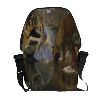 Mlle Fiocre in Ballet La Source by Edgar Degas Courier Bag