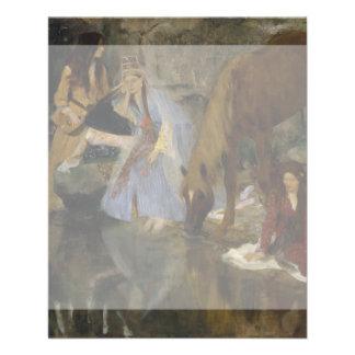 Mlle Fiocre in Ballet La Source by Edgar Degas 11.5 Cm X 14 Cm Flyer