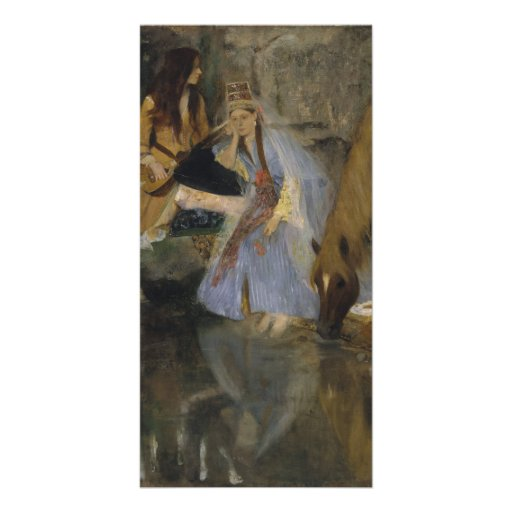 Mlle Fiocre in Ballet La Source by Edgar Degas Customized Photo Card