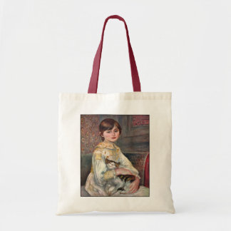 Mlle. Julie Manet with Cat Budget Tote Bag