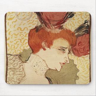 Mlle. Marcelle Lender, 1895 Mouse Mat