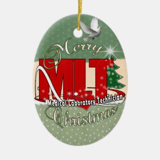 MLT CHRISTMAS MEDICAL LABORATORY TECH CHRISTMAS ORNAMENT