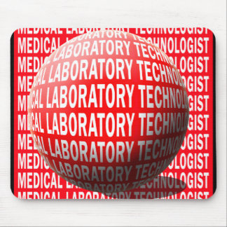 MLT SPHERE MEDICAL LABORATORY TECHNOLOGIST MOUSE PAD