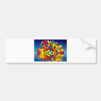 MM chocolate sweets Bumper Sticker