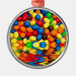 MM chocolate sweets Christmas Ornament