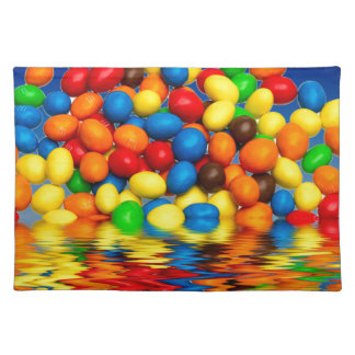 MM chocolate sweets Placemat