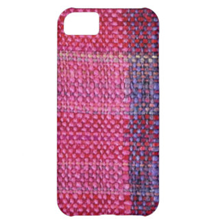 mm handwovens pink iPhone 5C covers