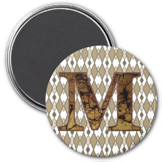 MM 7.5 CM ROUND MAGNET