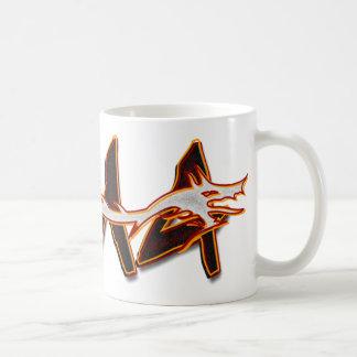 MMA Dragon Basic White Mug