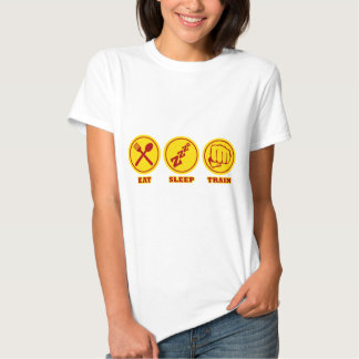 MMA Eat Sleep Train shirt