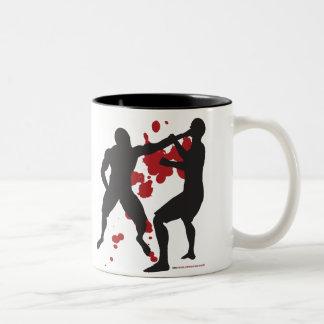 MMA FACE PUNCH Two-Tone COFFEE MUG