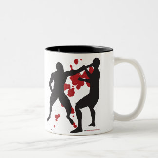 MMA FACE PUNCH Two-Tone MUG
