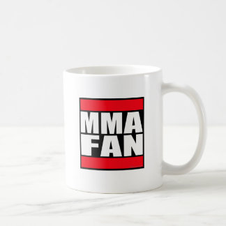 MMA FAN mixed martial arts MMA Basic White Mug