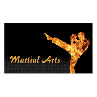 MMA Fighter Martial Arts Business Cards
