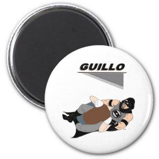 MMA Fighter/Superhero Guillo 6 Cm Round Magnet