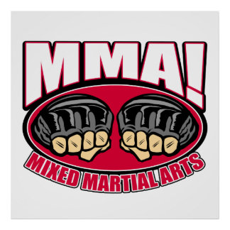 MMA Fists Poster