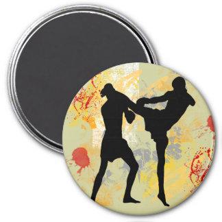 MMA Head Kick Magnets
