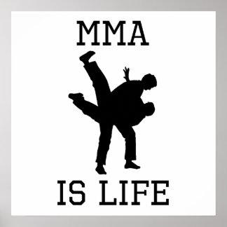 MMA Is Life Print