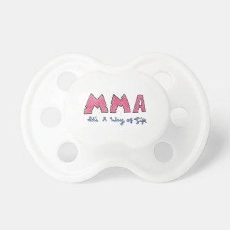 MMA It's a Way of Life Baby Pacifiers