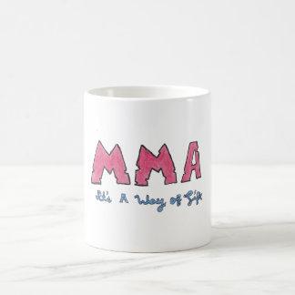 MMA It's a Way of Life Mug Basic White Mug