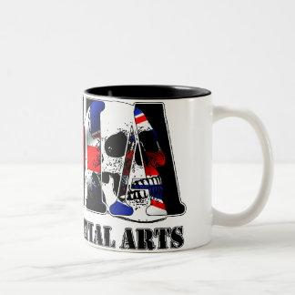 MMA Mixed Martial Arts UK Skulls Mugs