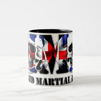 MMA Mixed Martial Arts UK Skulls Two-Tone Mug