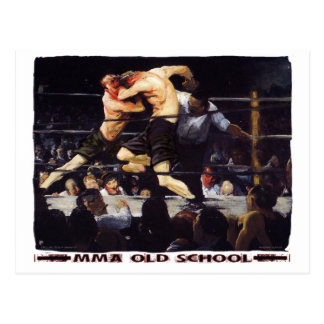 MMA Old School Postcards