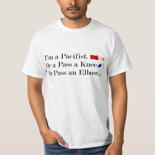 MMA Pacifist Humour Design T-Shirt