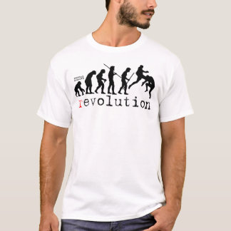 MMA Revolution Evolution Chart T-shirt