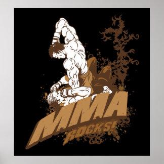 MMA Rocks Print