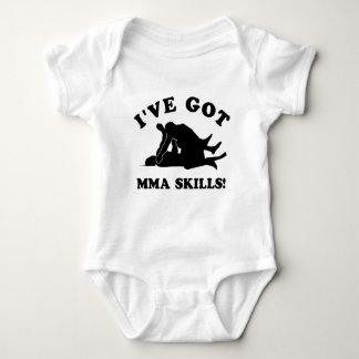 mma skill gift items baby bodysuit