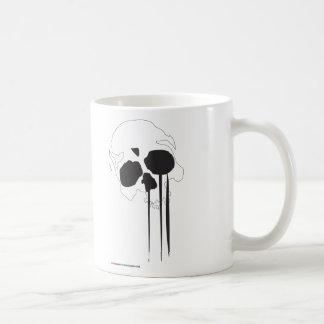 MMA Skull Cry Coffee Mugs