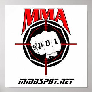 MMA Spot Poster