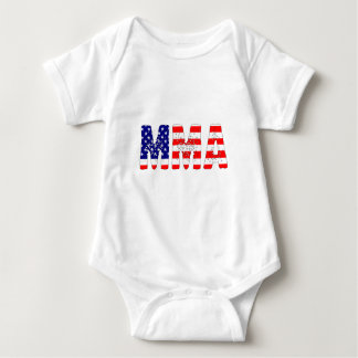 MMA USA Flag Baby Bodysuit