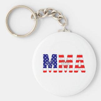 MMA USA Flag Keychain