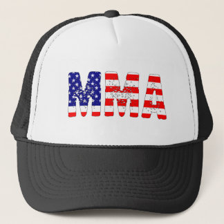 MMA USA Flag Trucker Hat