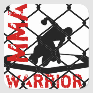 MMA WARRIOR Sticker