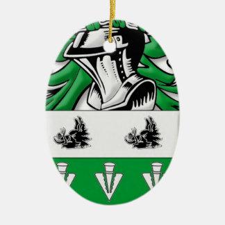 mMcCutcheon Coat of Arms Christmas Ornaments
