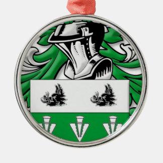 mMcCutcheon Coat of Arms Ornament