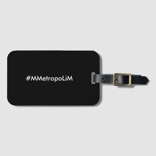 "MMetropolim ""Luggage Tag with Business Slot,,"