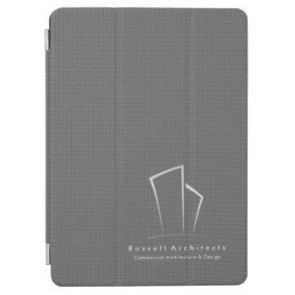 MMinimalistic Real Estate Logo (Gray Pindots) iPad Pro Cover
