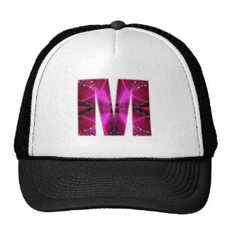 MMM ALPHAM ALPHABETS TRUCKER HATS