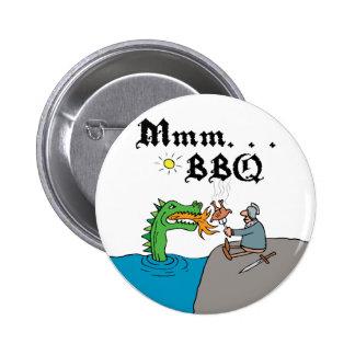 Mmm. . . BBQ Pinback Button