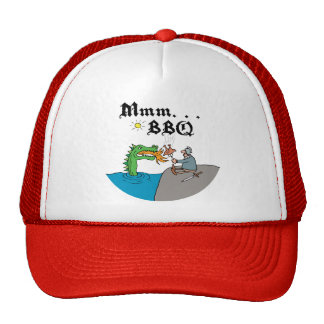 Mmm. . . BBQ Trucker Hats