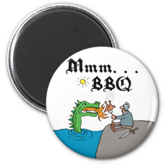 Mmm. . . BBQ Magnet Fridge Magnet