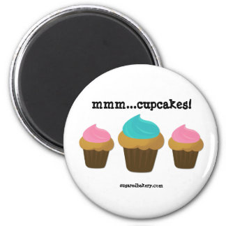 mmm...cupcakes! Magnet