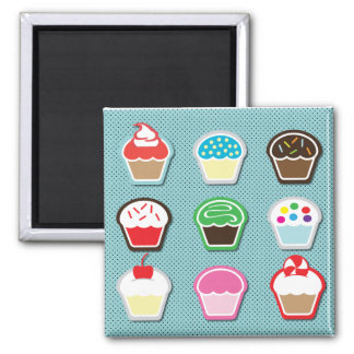Mmm, Cupcakes! Magnet