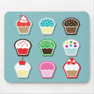 Mmm, Cupcakes! Mouse Pad