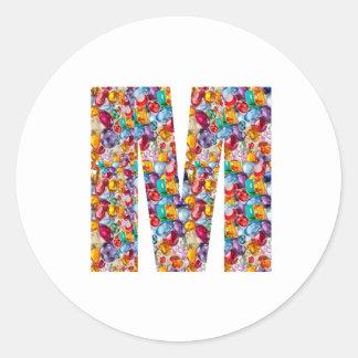 MMM GGG FFF EEE E F G M MM GG FF EE Gifts Stickers